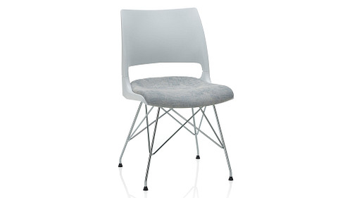 Wire Tower with Solid Shell (Upholstered Seat)