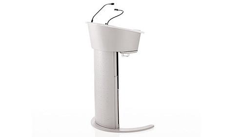 Lectern with Keyboard