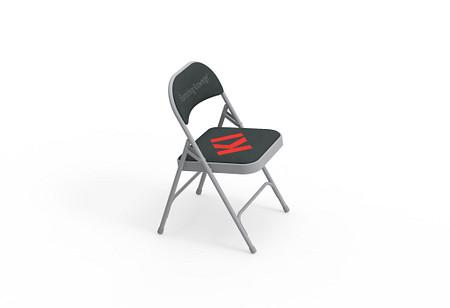 600 Series Folding Chair - KI Logo