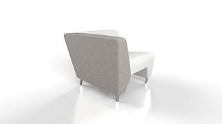 MyWay Lounge Seating | Left High Arm, Right No Arm