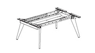 Connection Zone Benching   Dual-Sided Standalone or Starter or Adder Wood Frame