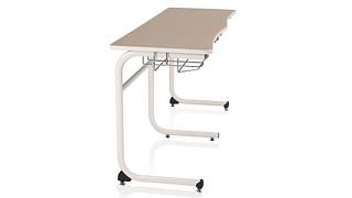 Intellect Wave Desks   Two-Student Desk