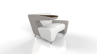MyWay Lounge Seating | Left Work Arm, Right Low Arm