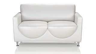 Tea Cup Lounge Seating | Double Loveseat