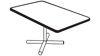 Barron Tables | Rectangular Top (Fixed/Folding Leg or Flip Top) w/optional Modesty Panel or Power