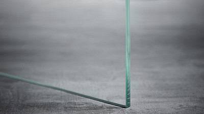 "Glass | 1/4"" Clear Tempered, Low Iron"