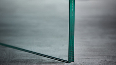 "Glass | 1/2"" Clear Laminate w/.03 Interlayer"