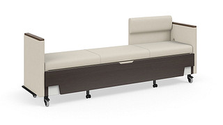 Hiatus Sleeper Bench | Right Chaise, Both Arms