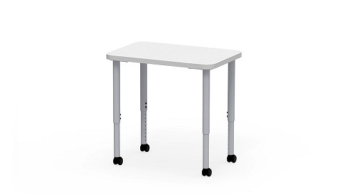 Rectangle, Sit Height Adjustable