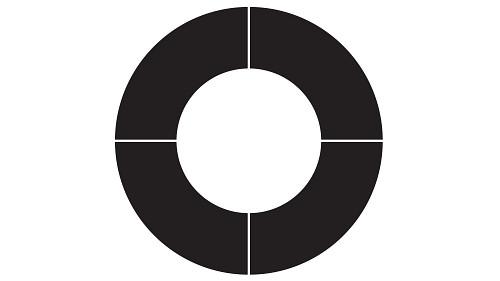 Plus Open Circle Top