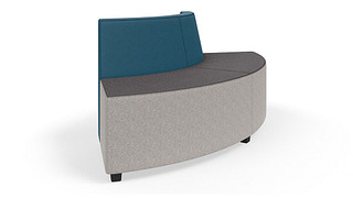 MyPlace Lounge Furniture | 90° Outside Curve w/ Back