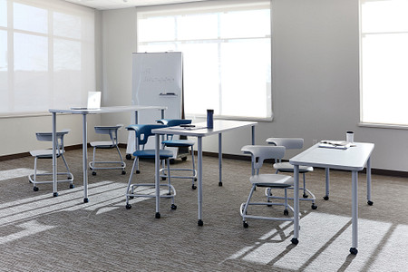 Ruckus class13a tiered rectangletables stackchairs stools