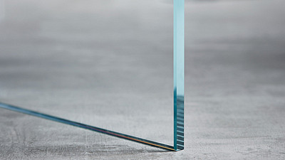 "Glass | 3/8"" Clear Tempered, Low Iron"
