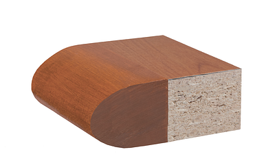 Edge Styles | Elliptical with Veneer Top