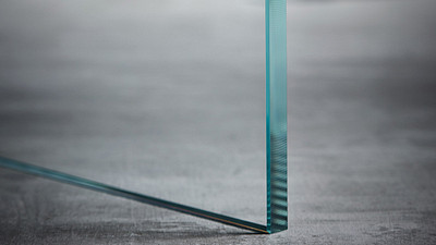 "Glass | 1/2"" Clear Tempered, Low Iron"
