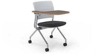 Strive Nesting Chair | nesting uph tablet arm chair - oversize