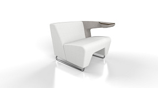 MyWay Lounge Seating | Left No Arm, Right Work Arm