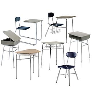 Ivy League Classroom Furniture Revit Symbols