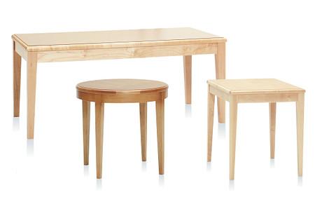 Flex table coffee round rect