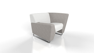 MyWay Lounge Seating | Left Low Arm, Right High Arm
