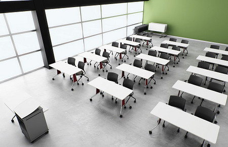 Enlite tables traditional classroom StriveN broch 4a