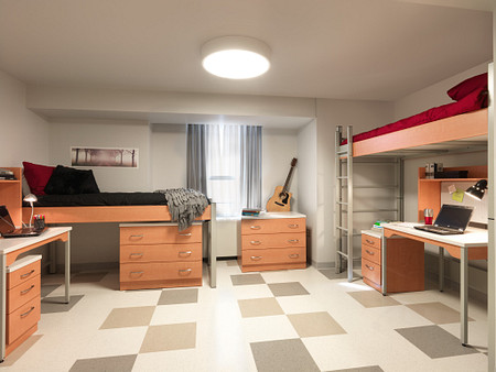 NIU dorm1 RoomSc Dante