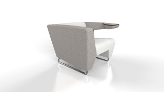 MyWay Lounge Seating | Left High Arm, Right Work Arm