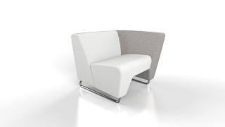 MyWay Lounge Seating | Left No Arm, Right High Arm