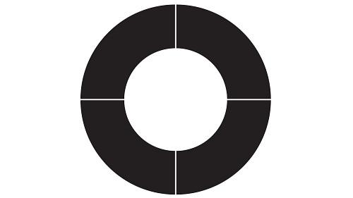 Plus Open Circle Table (Fixed/Folding Leg)