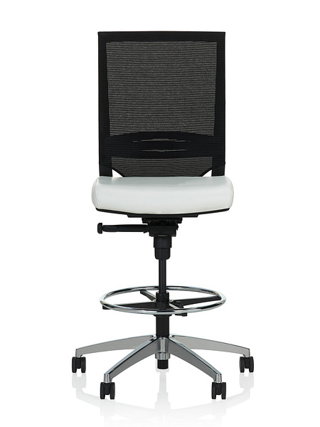 Sift task stool armless uph front