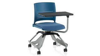 Learn2 Seating | Strive Shell (Upholstered Seat) With Worksurface