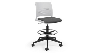 Strive Task Stool | Task Stool with Upholstered Seat