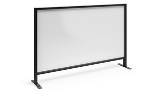 Tattoo Screens   Monolithic Flex Screen with Magnetic Dry-Erasable Steel Core