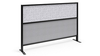 Tattoo Screens | Segmented Flex Screen w/Fabric Lower, Polyester Felt Upper Core