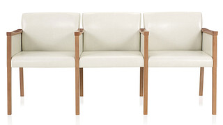 Affina Multiple Seating | Three Seat