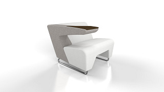 MyWay Lounge Seating | Left Work Arm, Right No Arm