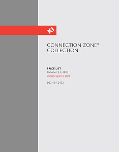 Connection Zone Collection Price List