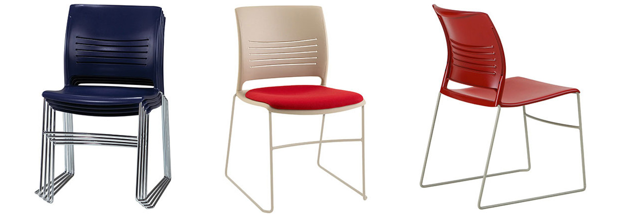 Strive High Density Stack Chair