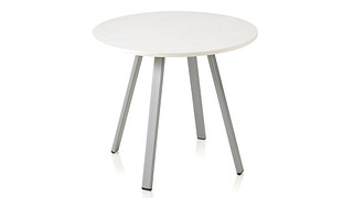 Soltice Metal Occasional Tables | Round Lamp Table 22""