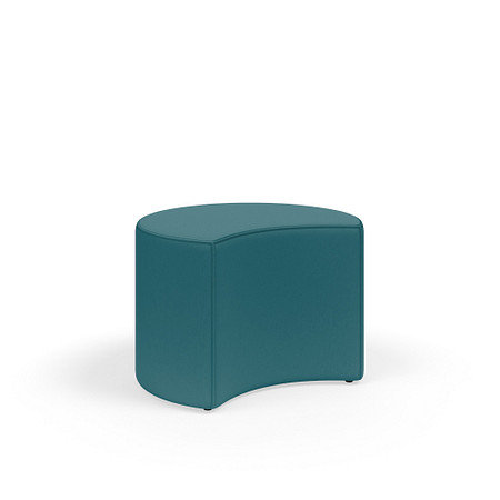 MyPlace 26InchCrescent Ottoman Glides FrontAngle