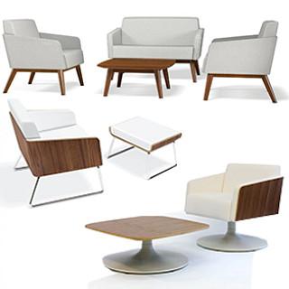 Lyra Lounge Furniture Revit Symbols