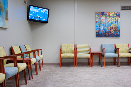 united regional soltice multiple table seating lobby healthcare