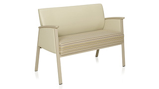Soltice Metal Multiple Seating | Loveseat