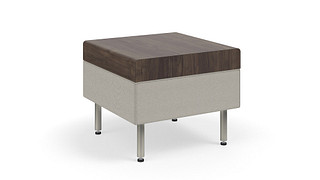 Tattoo Slim Seating | Occasional Table on Glides