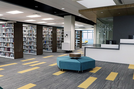 HarperCollegeLibrary Hub library