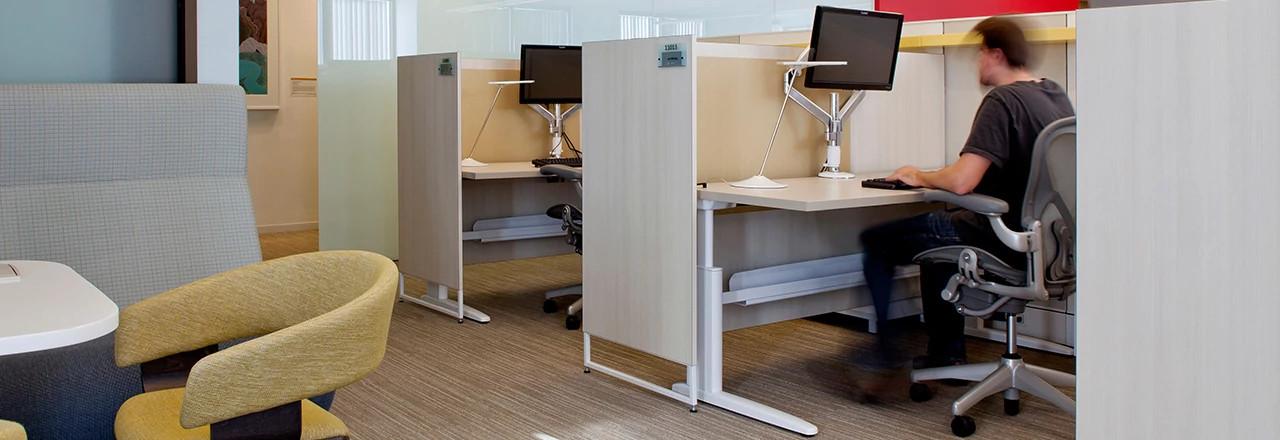 Genesis Height-Adjustable Desking System