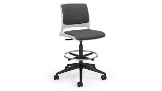 Strive Task Stool   task stool - uph back