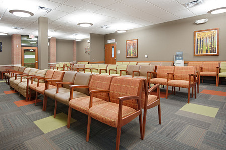 united regional soltice multiple bariatric waiting seating lobby healthcare