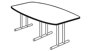 Barron Tables | Boat Top (Fixed Leg only)