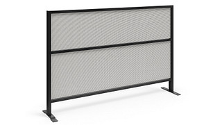 Tattoo Screens | Segmented Flex Screen w/Fabric Lower and Upper Cores